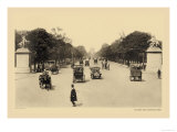 Avenue of the Champs-Elysees Prints by Helio E. Ledeley