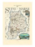 Seine-Et-Marne Prints by Par M. Vuillemin