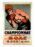 International Boxing Championship Poster