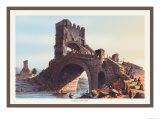 Ponte Salaro Print by M. Dubourg