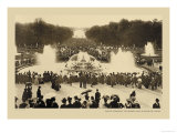 Versailles, Latona Bassin, High Waters Posters by Helio E. Ledeley