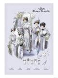 Album Blouses Nouvelles: An Elegant Morning Posters