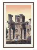 Temple of Pallas Prints by M. Dubourg