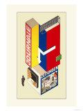 Entwurf Eines Kiosk Posters by Herbert Boyer