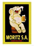 Moritz S.A. Poster