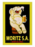 Moritz S.A. Posters
