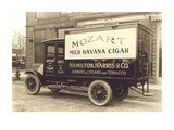 Mozart Mild Havana Cigar Truck Prints