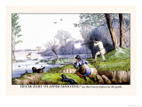 Frank Raby Flapper Shooting on the Great Lakes in the Park Posters by Henry Thomas Alken