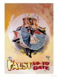 Faust Up to Date Premium Giclee Print by John Stewart Browne