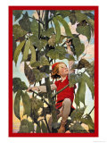 Jack et le haricot magique Reproduction giclée Premium par Jessie Willcox-Smith