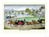 The Three Horse Teams Prints by Henry Thomas Alken