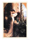 Romeo i Julia Reprodukcje autor Frank Bernard Dicksee