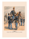 Enlisted Men, Cavalry and Infantry in Full Dress Prints by H.a. Ogden