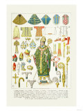 Vestments and Headwear Prints