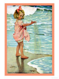 Petits grains de sable Posters par Jessie Willcox-Smith