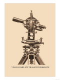 Seven-Inch Complete Transit-Theodolite Posters