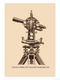 Seven-Inch Complete Transit-Theodolite Prints