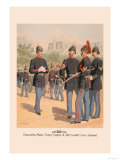 Enlisted Men, Staff and Artillery in Full Dress Prints by H.a. Ogden
