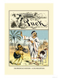 Puck Magazine: The Prodigal's Return Print by Frederick Burr Opper