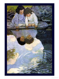 Looking-Glass River Art by Jessie Willcox-Smith