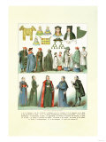 Clergy, Parisioners, Headwear Posters