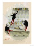 Death in the Lab Print by F. Frusius M.d.