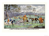 Meet with His Grace the Duke of Rutiana Posters by Henry Thomas Alken