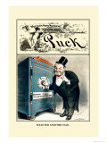 Puck Magazine: Solid for Another Year Prints by William W. Denslow