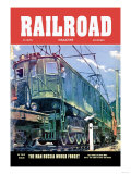 Railroad Magazine: The Virginian, 1952 Prints