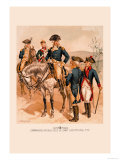 Commander in Chief, Aide de Camp, Line Officers Prints by H.a. Ogden