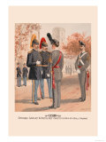 Officers, Cavalry and Artillery, Cadets Usma in Full Dress Prints by H.a. Ogden