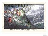 All Night Hunt with Sir Thomas Mostyn Prints by Henry Thomas Alken