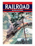Railroad Magazine, Freight Through the Wilderness, 1942 Posters