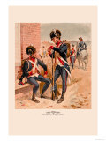 Infantry and Artillery, 1802-1810 Print by H.a. Ogden