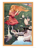 Goose Girl Posters by Jessie Willcox-Smith