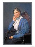 Clara Barton Print by M. Leiseiring