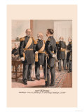 General, Major-General and Officers General Staff Print by H.a. Ogden