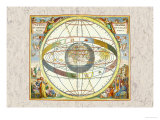 The Ptolemaic View of the Universe Posters by Andreas Cellarius