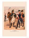 Cavalry, Infantry, Artillery Posters by H.a. Ogden
