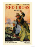 The Red Cross Magazine, May 1918 Posters by J. O. Todahl