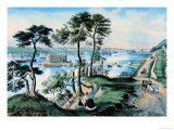 Staten Island Poster by  Currier & Ives