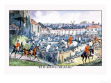 Hounds Lead Hunters Into a Graveyard Prints by Henry Thomas Alken