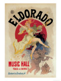 Eldorado Music Hall Posters by Jules Chéret