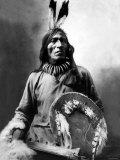 J.A. Anderson, Foolbull, Sioux Medicine Man Photo