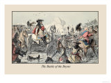 The Battle of the Boyne Prints by John Leech