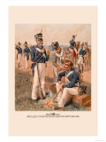 Artillery, Infantry, Rifle, Dragoon and Cadet 1813-1816 Prints by H.a. Ogden