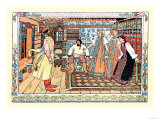 In the Room Prints by Ivan Bilibin