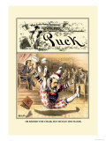 Puck Magazine: Jester Prints by John R. Neill
