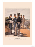 Regimental Officers , Engineer and Cadet Prints by H.a. Ogden