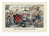 Appius Claudius Punished by the People Posters by John Leech